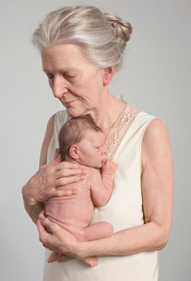 Jinks, 'Woman and Child', 2010, silicone, silk and human hair, banner von ARKEN